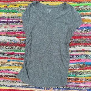 Liz Lange Maternity Short Sleeve Shirt XL